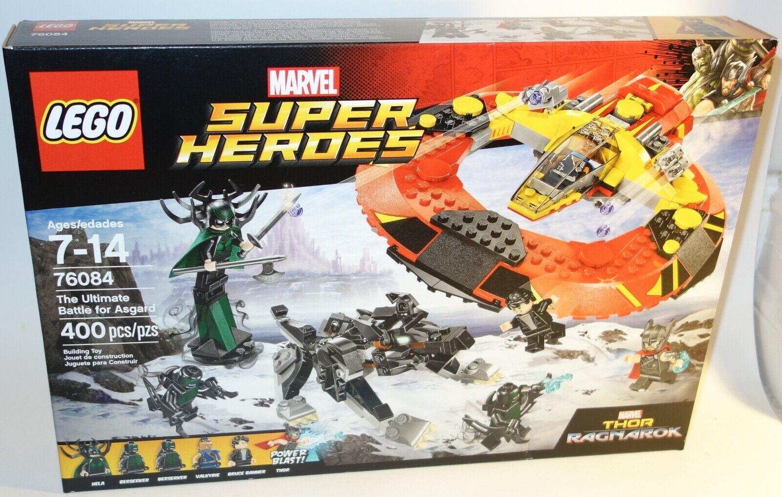 LEGO Marvel  Thor Ragnarok Ultimate Battle for Asgard Commodore spazioship 76084  una marca di lusso