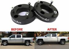 "MotoFab 2.5"" Leveling Kit For 2007-2017 GM Pickup Trucks Spacers New Free Ship"
