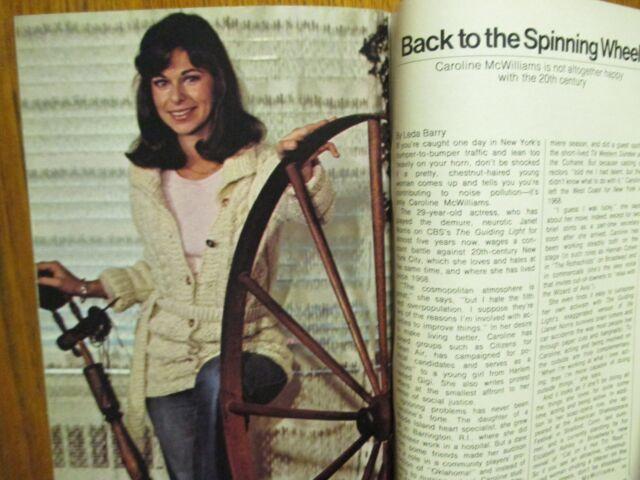 1975 TV GuideCAROLINE McWILLIAMS JEAN MARSH GORDON JACKSON UPSTAIRS DOWNSTAIRS