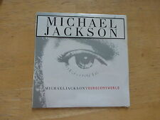 Michael Jackson - You Rock My World - CD Single ( 3 Tracks Including Intro )