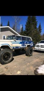 85 jeep Wagoner project on rockwells