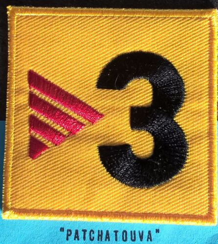 Espagne Patch Badge La liga TV3 brodé maillot foot FC.Barcelone de 04//05 a 12//13