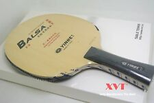 YINHE T9 Variant King Balsa Carbon With Long Rubber table tenis blade/paddle