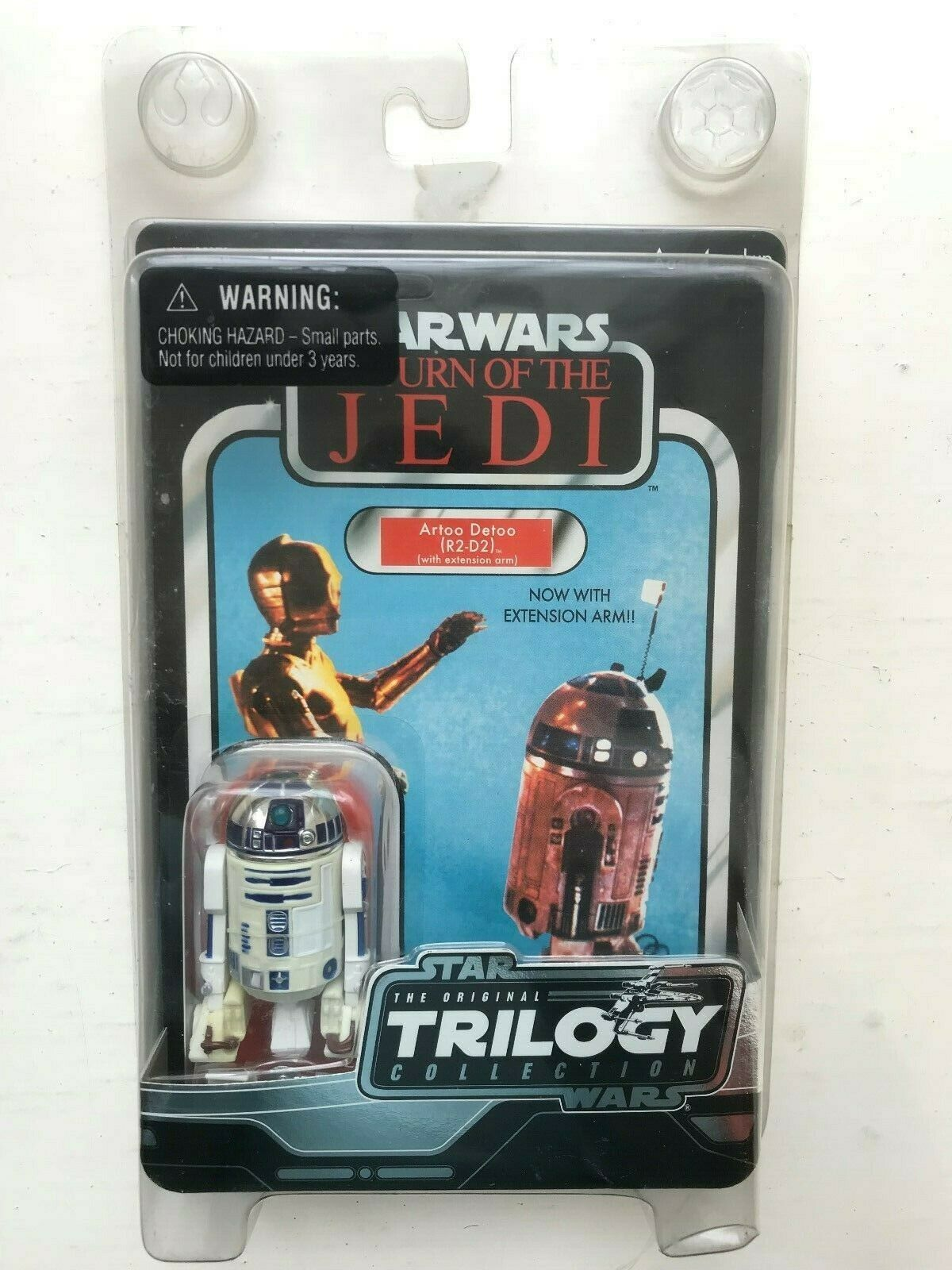STAR WARS ORIGINAL TRILOGY COLLECTION R2-D2 RETURN OF THE JEDI HASBRO FIGURE