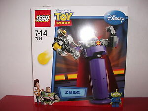 NEUF Lego 7591 Disney  Toy Story Figurine Zorg Zurg a Construire