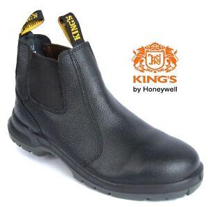 Oliver / Kings 15480 Black Safety Boots