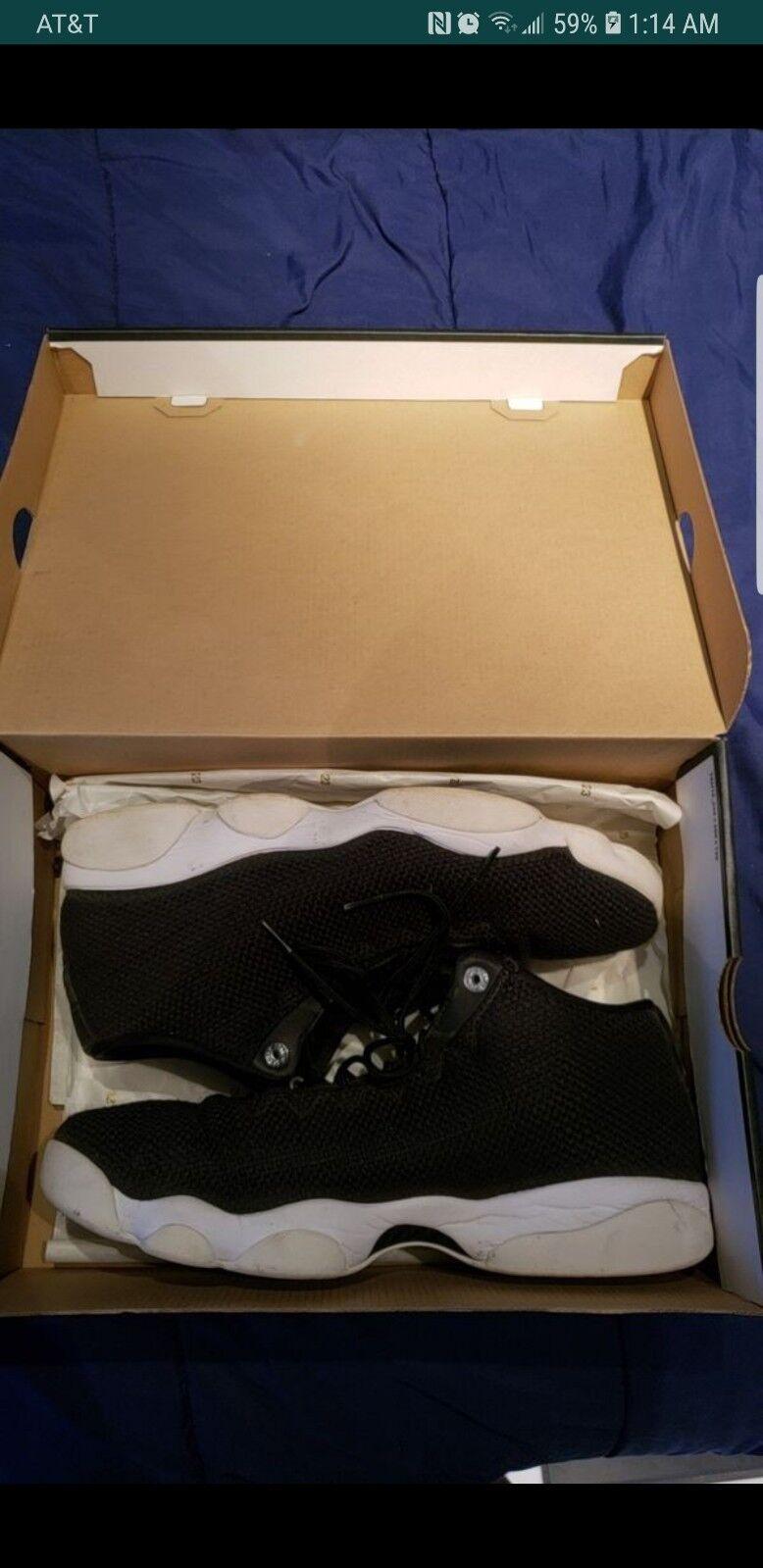 Nike uomini e e uomini 'jordan orizzonte bassa basket scarpe taglia 12 maglie bianco nero 2ddbb0