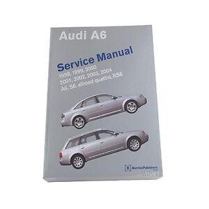 Audi A6 Service Manual 1998 2017 Bentley Publishers