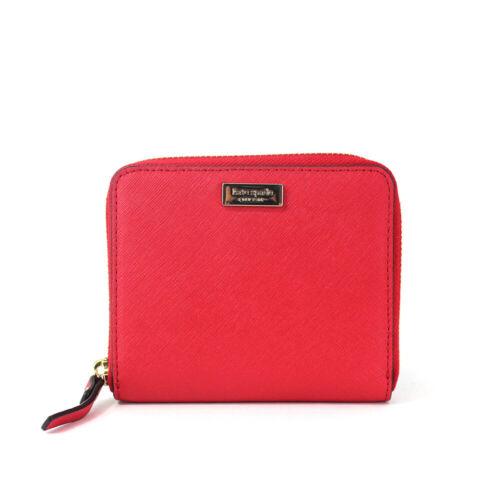 New Kate Spade Darci Laurel Way Leather Zip Around Medium Wallet