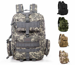 Outdoor Tactical Backpack Military Rucksacks for Camping Hiking Waterproof 30L