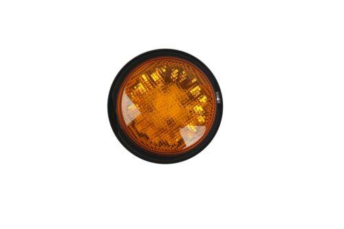 1x LED Rundumleuchte Blinklicht Warnleuchte Orange 12V 24W mit Magnet Neu OVP