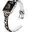 thumbnail 1 - for Apple Watch Band Leopard 38/40mm Silicone iWatch 6/5/4/3/2/1 Sport Wristband