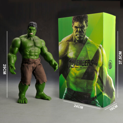 """Marvel Avengers 11.5/"""" Incredible Hulk Action Figure Comic Jouets Collection"""