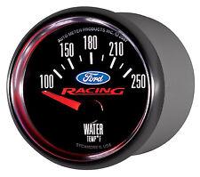 "Auto Meter Ford Racing 2 1/16"" Electric Water Temp Gauge 100-250 deg. F (880077)"