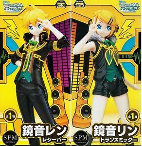 Vocaloid len rin kagamine figure project diva arcade future tone spm set of 2 ebay - Kagamine rin project diva ...