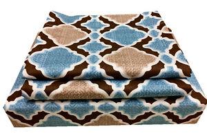 100-Cotton-Multi-Color-Checked-Duvet-Cover-Set-3-piece-Full-Queen-Size