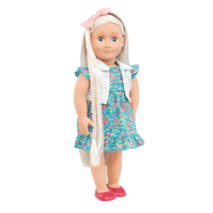 BRAND NEW Our Generation Pearl 18 Inch Doll From Hair To There Battat