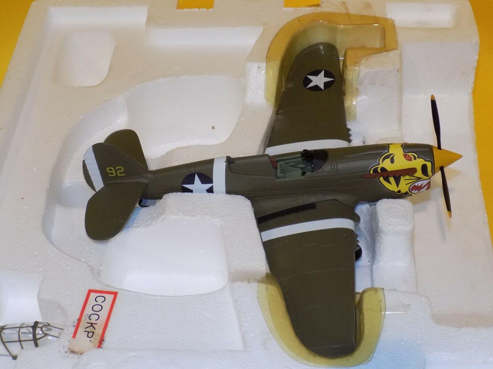 minoristas en línea USAAF P-40 Warhawk Warhawk Warhawk aleutiana Tigres Armadura Colección Franklin Mint B11B544 1 48  barato