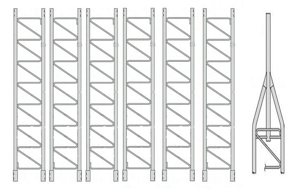 ROHN 45G Series 70' Basic Tower Kit. Available Now for 2160.00