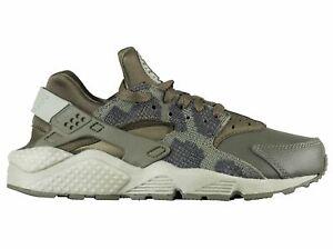 77416f94880 Nike Women s Air Huarache Run PRM Shoes Python Kahki Dark Stucco ...