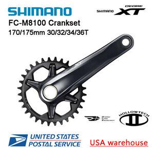 shimano DEORE M6000 crankset 20 30 Speed mtb crankset with bb52 170mm 175mm OE