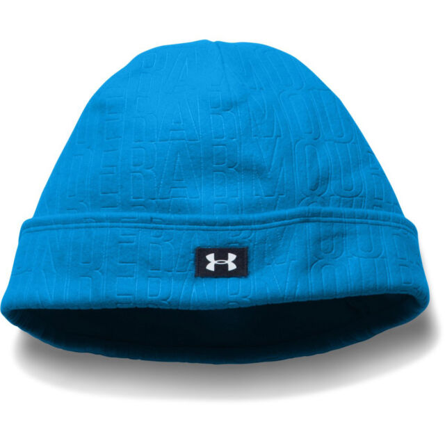 18f06929ae8 Under Armour Ladies Cosy Warm Fleece Beanie Golf Hat Bright Pink or Bright  Blue