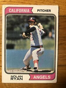 1974 Topps Nolan Ryan California Angels #20 G- VG