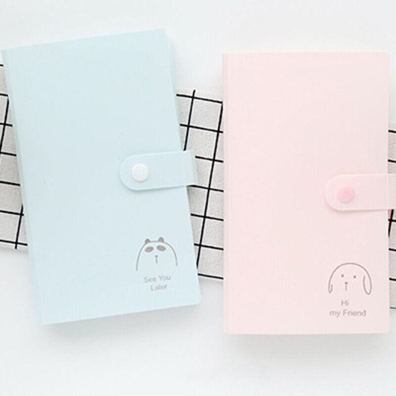 Album photo portable 240 poches porte-carte d'identité pour carte d'identité ML