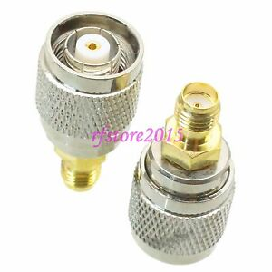 1pce-Adapter-Connector-RP-TNC-male-jack-to-SMA-female-jack-for-Wireless-WiFi