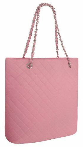 Womens Quilted Nylon Tote Messenger Shoulder Handbag Ladies Purse Bag