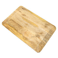Engraved Wooden Bread Cutting Serving Board Kitchen Chopping Mat Vintage Baking