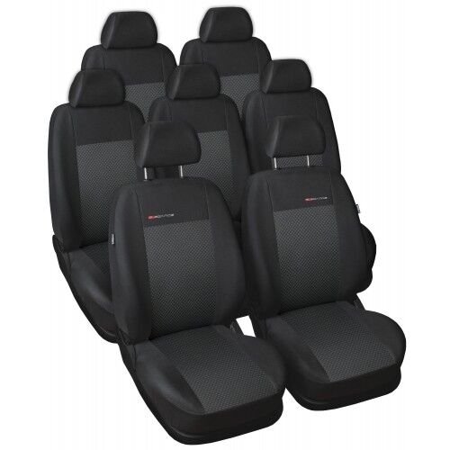 Sitzbezüge Mazda 5 05-10 7-Sitze Maßgefertigt Maß Sitzbezüge Sitzbezug Velours