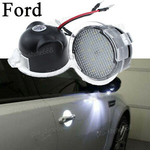 Image Is Loading High Power White LED Side Mirror Puddle Lights