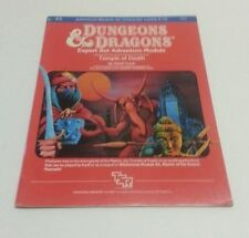1983 TSR DUNGEONS & DRAGONS MODULE X5 TEMPLE OF DEATH..C6B5)