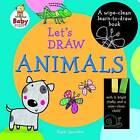 Baby Steps Lets Draw Animals by Bonnier Publishing Australia (Hardback, 2013)