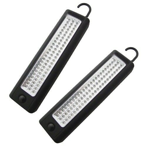 2 x ULTRA-BRIGHT 72 LED WORKLIGHT INSPECTION LAMP MAGNETIC WORK LIGHT TENT TORCH