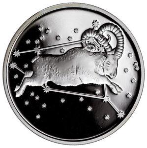 2015-Tokelau-1-oz-5-Silver-Creatures-Aries-Proof-In-Original-Cap-SKU34454