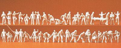 Amichevole Preiser 16329 Scala H0 Figure,vigili Del Fuoco Con Accessori 42 Personaggi Non Sapore Fragrante (In)