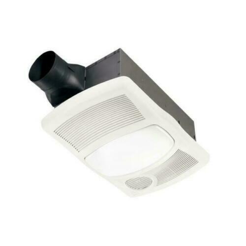 NuTone 765H110L 110 CFM Ceiling Bathroom Exhaust Fan with ...