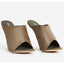 Cape-Robbin-COTTON-CANDY-Nude-Faux-Suede-Open-Toe-Clear-Lucite-Wedge-Heel-Mule thumbnail 10