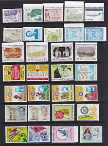 Philippines-1987-Year-set-collection-60-different-values-S-S-Imperf-strip-NH