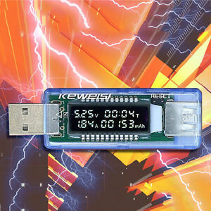 0-91-OLED-Screen-USB-Charger-Capacity-Power-Current-Voltage-Detector-Tester-F-F