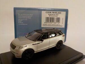 Model-Car-Range-Rover-Velar-Silicon-Silver-1-76-New-Oxford-76VEL003