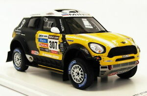 Tsm Modèle 1/43 Echelle Tsm144344 - Mini Countryman All4 Racing # 307 2013