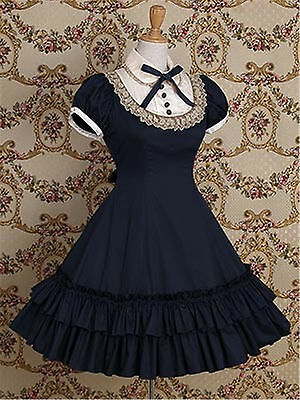 Lolita Cosplay Kostüm Vintage Style Party Formal Kleid Costume Dress Customized