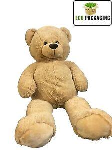 TEDDY-BEAR-EXTRA-LARGE-100-CM-SOFT-HUGE-BROWN-STUFFED-BIG-GIANT-CUDDLY