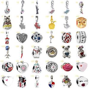 European-Newest-Alloy-Silver-Charms-Bead-Pendant-Fit-925-Bracelets-Chain-14