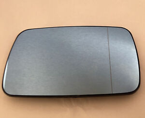 Left Passenger Side Electric Heated Wing Mirror Glass For BMW 3 Series E46 98–05