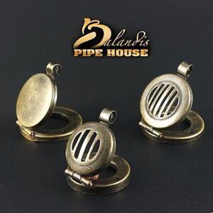 5-pcs-x-Mr-Balandis-original-034-OLD-BRASS-034-wind-cap-for-DIY-wooden-smoking-pipe