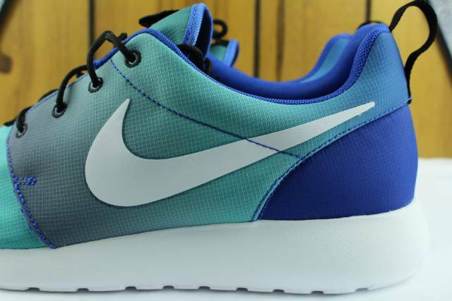 NIKE ROSHE ONE ONE ONE PRINT GAME ROYAL MEN Größe  13.0 NEW RARE AUTHENTIC COMFORT e52d03